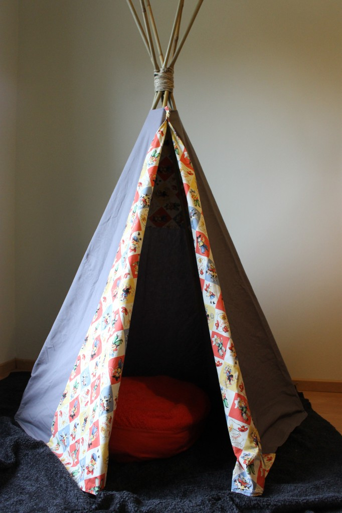 tipi tent zelf maken  natuurlijkrijk