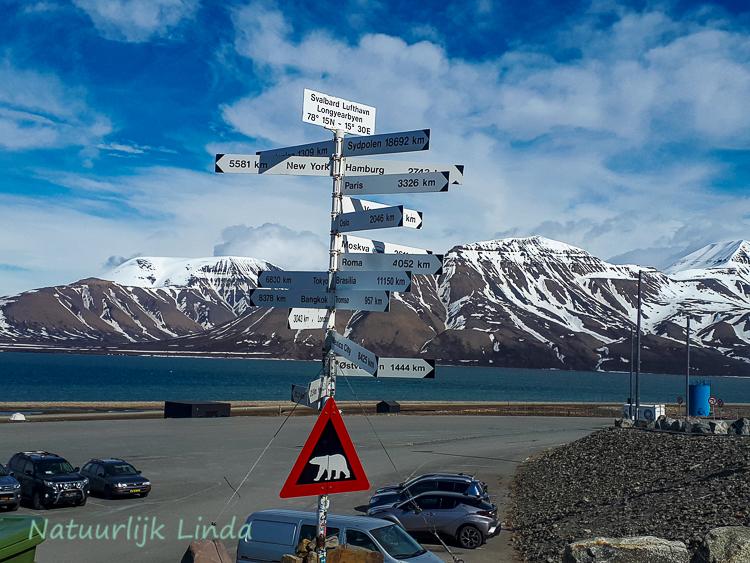 Spitsbergen aankomst Natuurlijk Linda