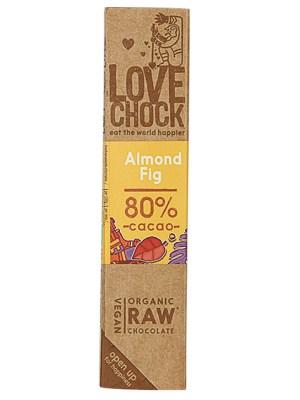 Lovechock Reep Raw Chocolate Almond Fig