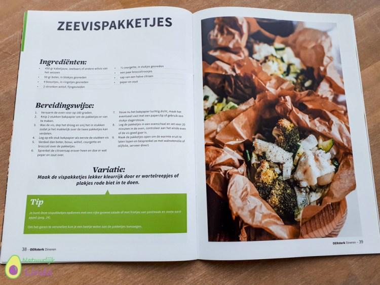 Oersterk magazine dineren recept zeevispakketjes