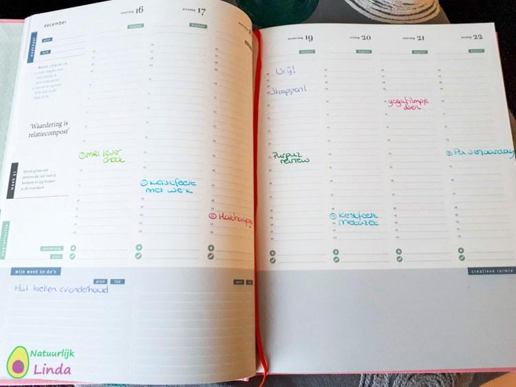 Purpuz weekplanning pink