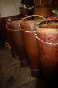 Djembe-trommels maken