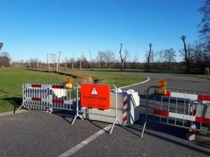 Afsluiting Kauwbosstraat