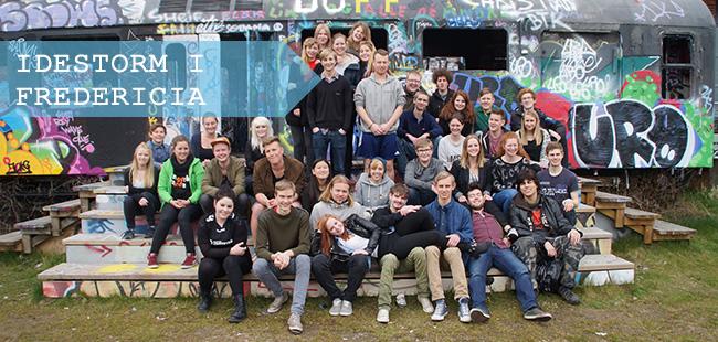 Ungdommens Hus udgjorde fremragende omgivelser til at lade kreativiteten få frit løb