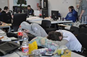 Computerspil til man bare ikke kan holde øjnene åbne længere. Billede: Ærø Ungdomsråd
