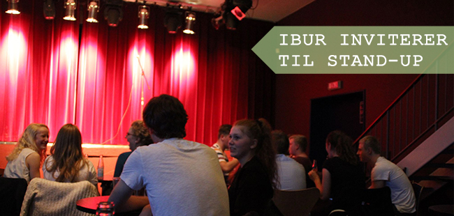 IBUR inviterer til stand-up