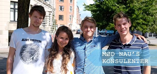 Fra venstre Torben Vinter, Emilie Maarbjerg Mørk, Thorkild Kristiansen og Tobias Aarkrogh Ubbesen