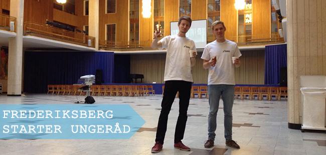 NAU's konsulenter hjalp lørdag til med opstarten af det kommende Frederiksberg Ungeråd