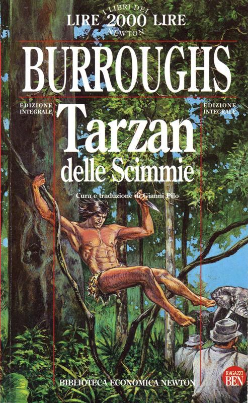 Tarzan delle scimmie-Edgar Rice Burroughs