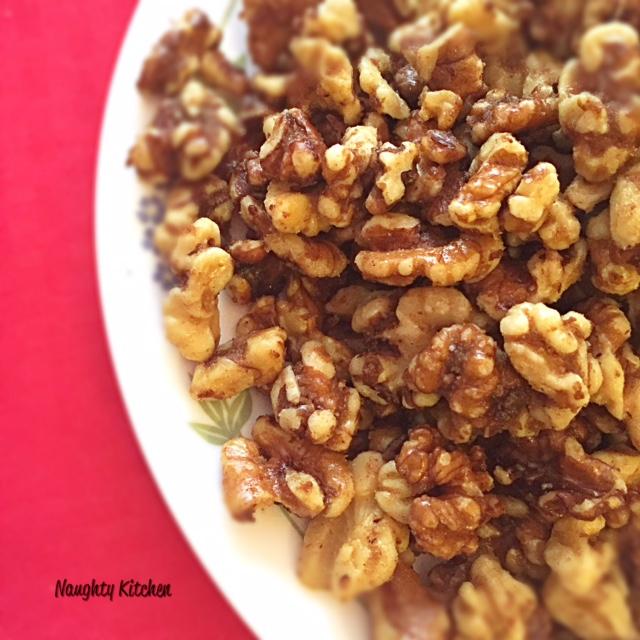 Brown Sugar Walnuts