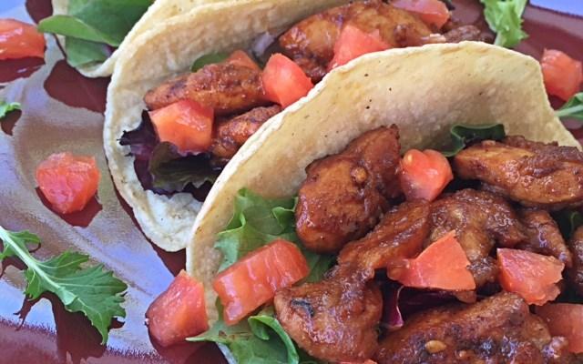 Chicken Tocino Tacos