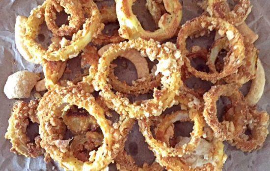 Crispy Chicharon Onion Rings