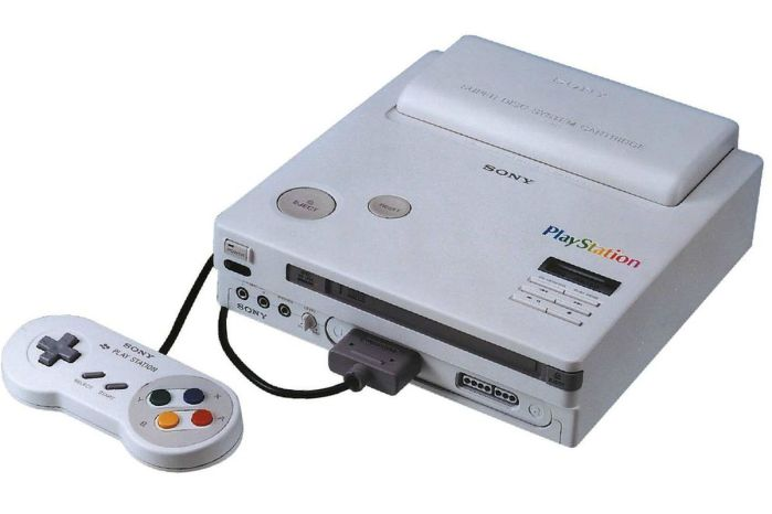 SNES CD Play Station