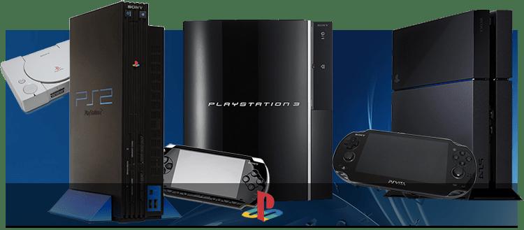 Les Consoles PlayStation
