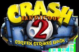 Logo Crash Bandicoot 2 Cortex Strikes Back
