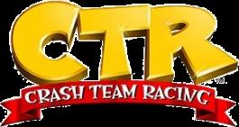 Logo Crash Team Racing