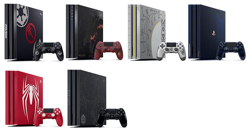 Editions Spéciales PS4 PRo