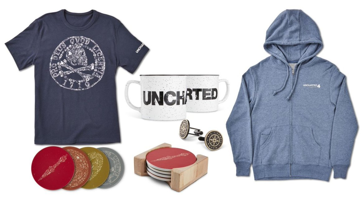 Goodies Uncharted 4 A Thief's End