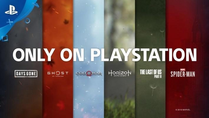 Jeux narratifs PS4 - Only on playstation