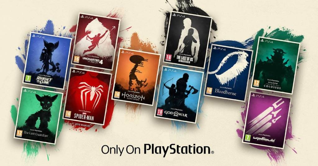 Collection PS4 - Only On Playstation PS5