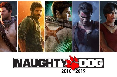Jeux Naughty Dog 2010 - 2019