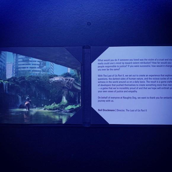 mot de remerciement Unboxing Collector The Last Of Us Part II