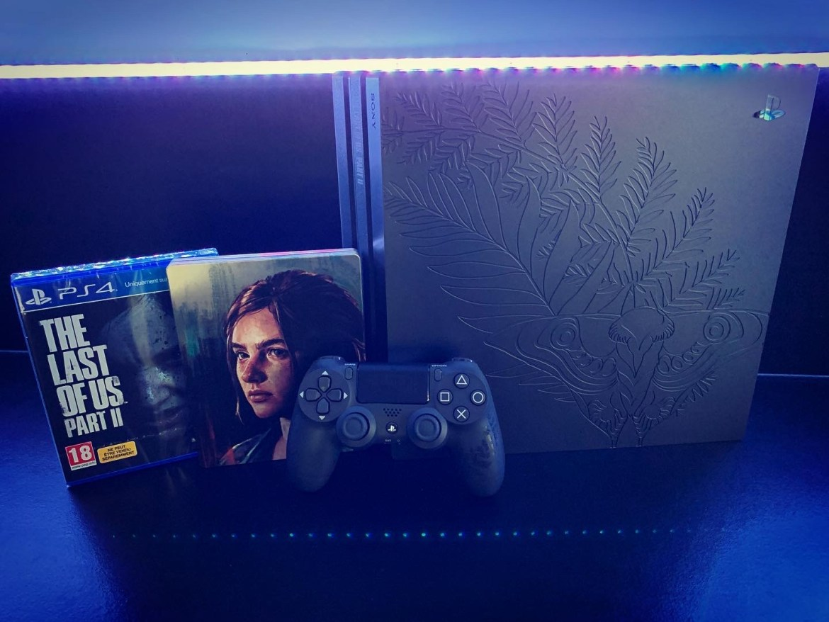 PS4 Pro Édition Limitée The Last Of Us Part II