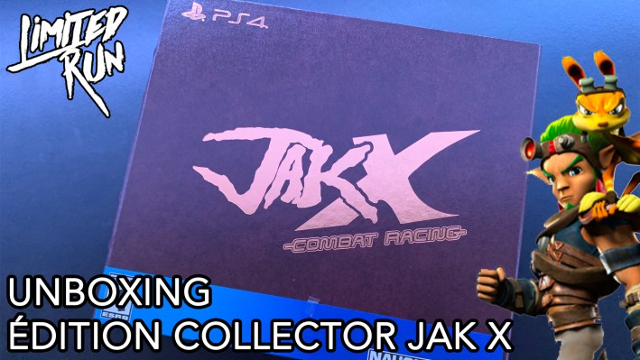 Unboxing Jak X Collector PS4