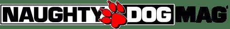 Logo Naughty Dog Mag' Black