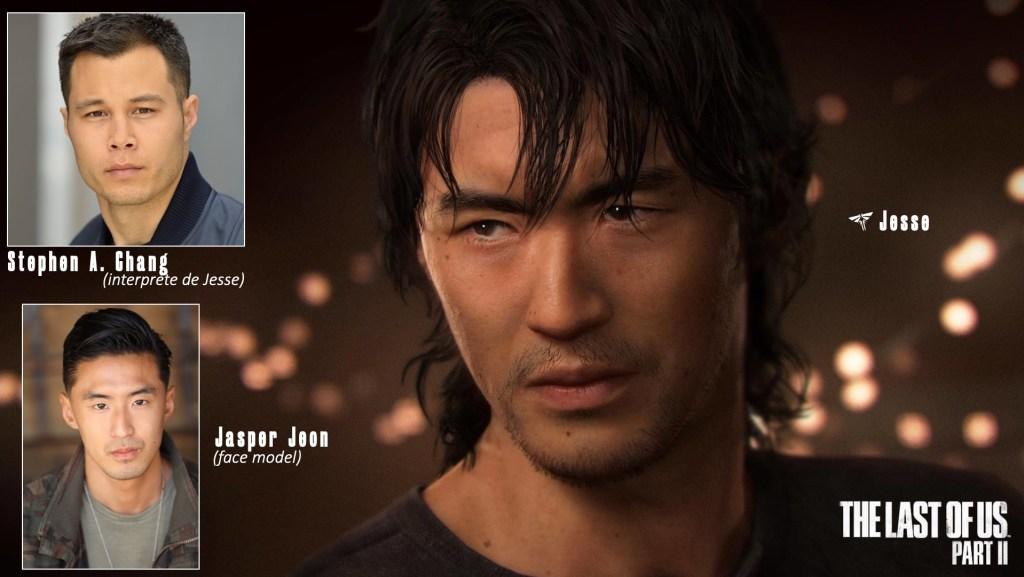 Le personnage de Jesse et le visage de ses interprètes et/ou modèles