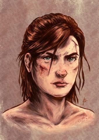 Ellie TLOU2, par la communauté Naughty Dog