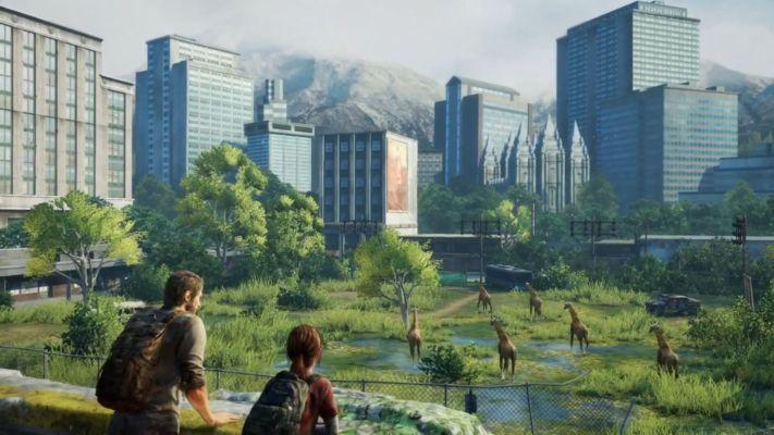 """Capture du """"Giraffe Moment"""" dans The Last of Us (Naughty Dog, 2013)"""
