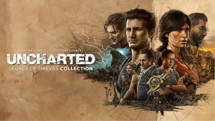 Uncharted the legacy of thieves collection