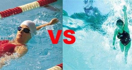 Co lepsze pływanie na plecach czy brzuchu