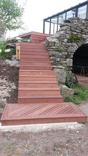 terrasse en bois sur mesure à langogne