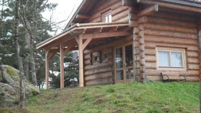 terrasse en bois lozere