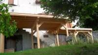 terrasse en bois au Puy en Velay