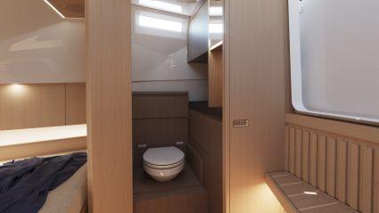 Swan Shadow toilette