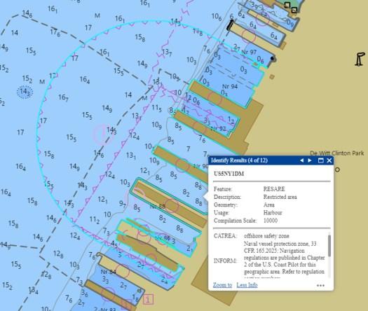 NOAA ENC US5NY1DM.