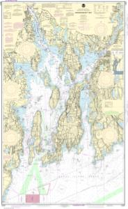 Nautical Charts Online  NOAA Nautical Chart 13221
