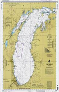 Nautical Charts Online  Chart 14901101997 MI1997Lake