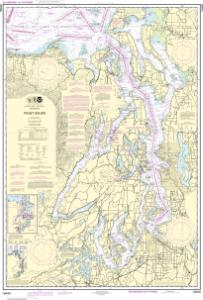 Nautical Charts Online  NOAA Nautical Chart 18440 Puget