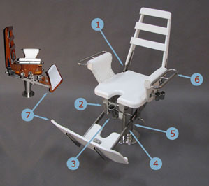 fishing fighting chair parts comfy dining chairs ffc designs by nautical model