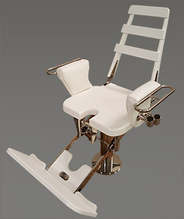 fishing fighting chair parts vintage baby high chairs ffc designs by nautical with straight up backrest tuckaway footrest