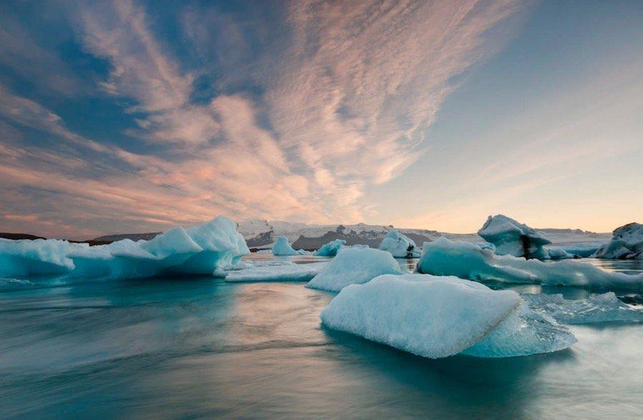 el calentamiento oceánico
