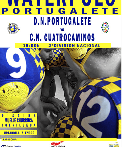 Cartel Partido Waterpolo