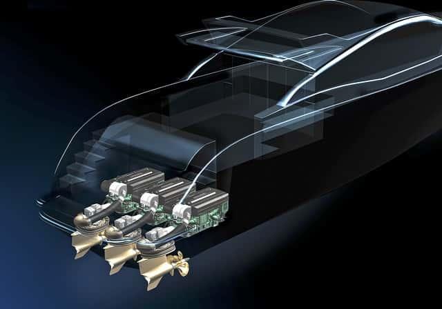 Volvo Penta motor IPS  4