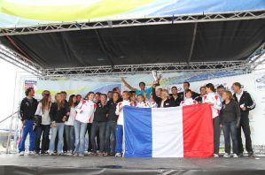 Voile Olympique Equipe de France remporte coupe du monde ISAF