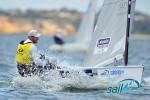 Ben Ainslie (GBR) Finn sail melbourne 2010