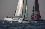 Oman Air Ben Ainslie Extreme Sailing Series Nice day 2